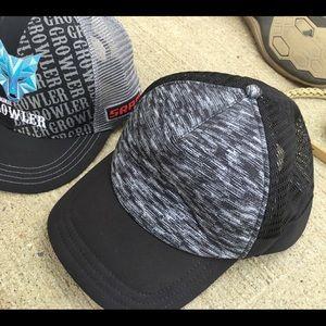 Boco growler summer cap and lulemon cap